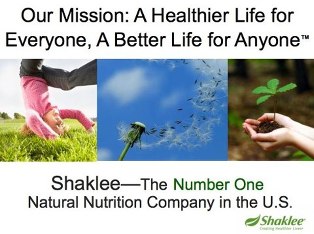 Shaklee The Number One NN co 07212012