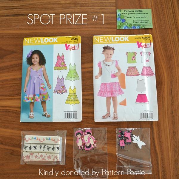 Spot prize 1