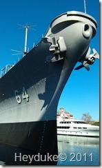 10-7-2011 Norfolk, VA USS Wisconsin 2