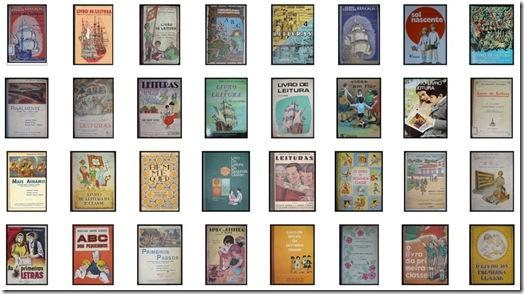 livros escolares antigos