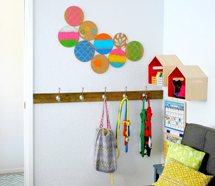 Colorful-Kids-Entryway