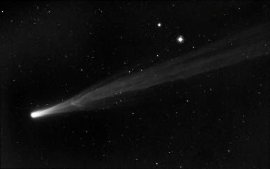 desconexão no cometa ISON