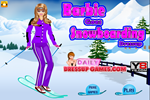 Barbie Goes Snowboarding