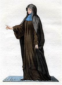 Pakaian Biarawati dari Umat Al Masih Timur Kuno