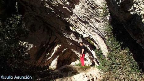 Cueva de Alaiz - Cavidad norte - Tiebas - Navarra