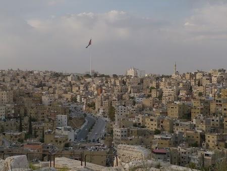 Obiective turistice Iordania: Panorama Amman