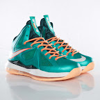 nike lebron 10 gr miami dolphins 3 01 Gallery: Nike LeBron X Miami Setting or Dolphins if you Like