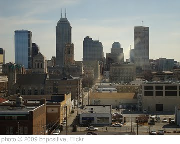 'Indianapolis Skyline' photo (c) 2009, bnpositive - license: http://creativecommons.org/licenses/by-sa/2.0/