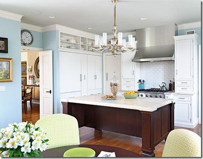 kitchen counter chandelier