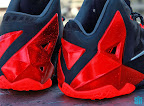 nike lebron 11 gr black red 8 02 New Photos // Nike LeBron XI Miami Heat (616175 001)