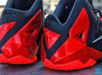 nike lebron 11 gr black red 8 02 New Photos // Nike LeBron XI Miami Heat (616175 001)