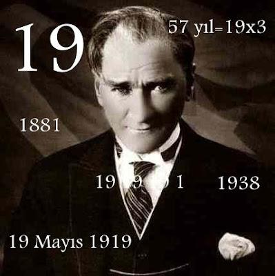 Atatürk ve 19 Sayısı