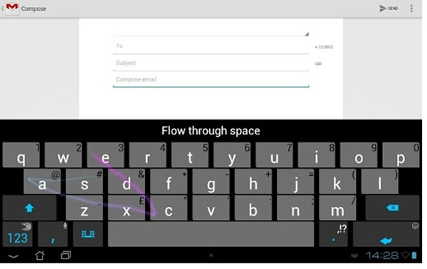 Swift Key 3 Keyboard for Tablets