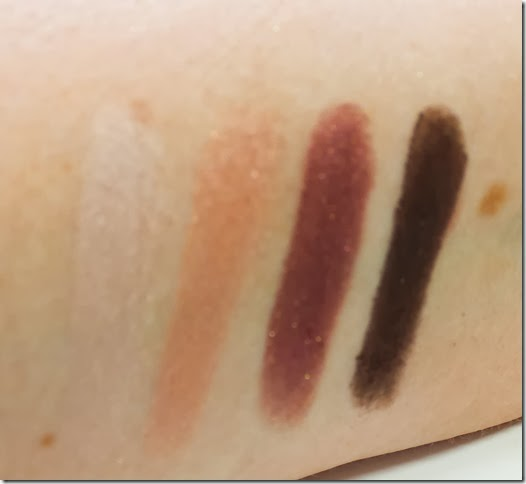 Chanel Les 4 Ombres Seduction swatches