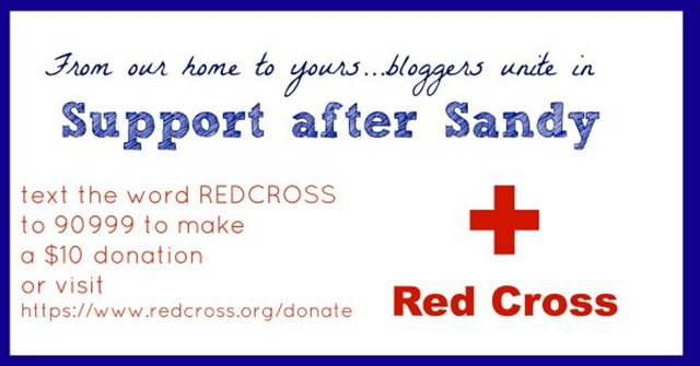 donating to the red cross