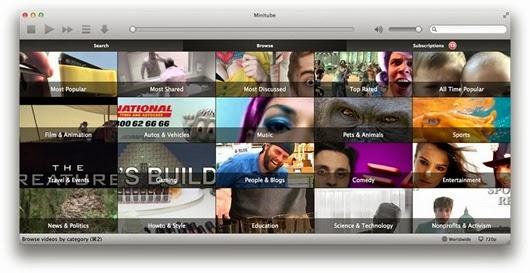 YouTube for Desktop – Minitube Player