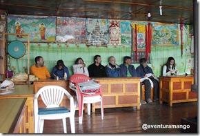 Grupo no Mosteiro de Pangboche 1