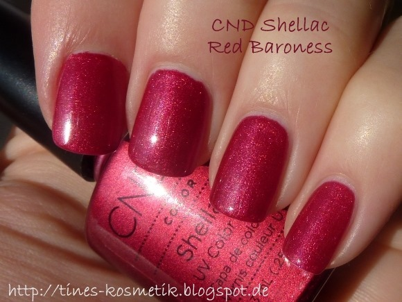 CND Shellac Red Baroness 5