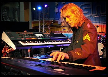 Scott Warren of Hellion at the NAMM show in 2014 by Ron Lyon MEDIUM