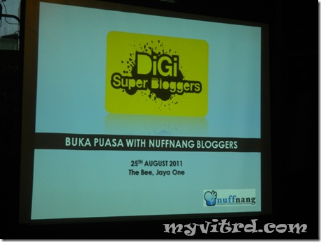 DiGi-nuffnang Buka Puasa 2011