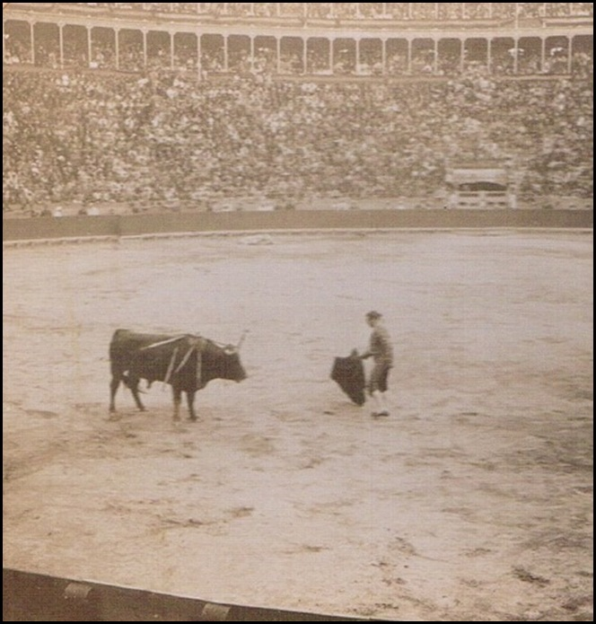 Plaza de toros. Corrida. 1895