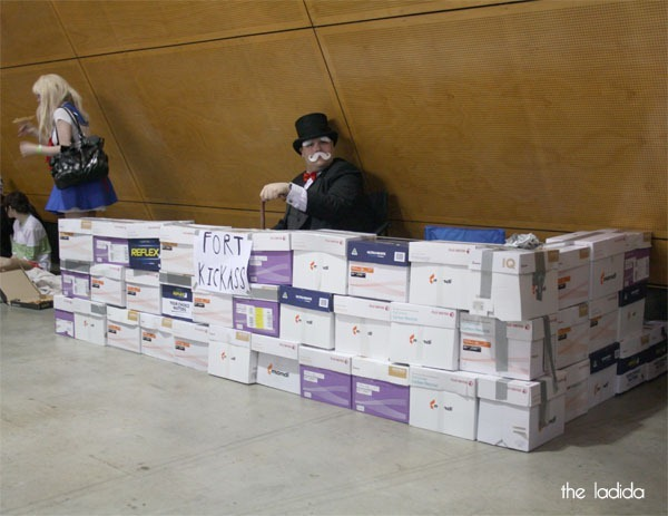 Supanova - Cosplay - Monopoly Fort of Awesome - Rich Uncle Pennybags