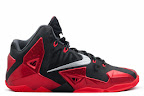 nike lebron 11 gr black red 9 02 New Photos // Nike LeBron XI Miami Heat (616175 001)