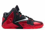 nike lebron 11 gr black red 9 02 New Photos // Nike LeBron XI Miami Heat (616175 001)