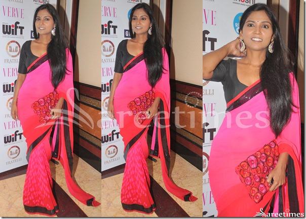 Usha_Jadhav_Pink_Saree