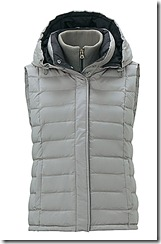 t-down by Theory down vest