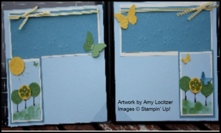 Cards & Things, Guest Designer, Amy Locitzer, Trendy Trees, shop online, online store, retired list, celebrando creatividad, Created By You, Sharon Field, scrapbook, challenge