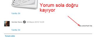Blogger Kayan Yorum