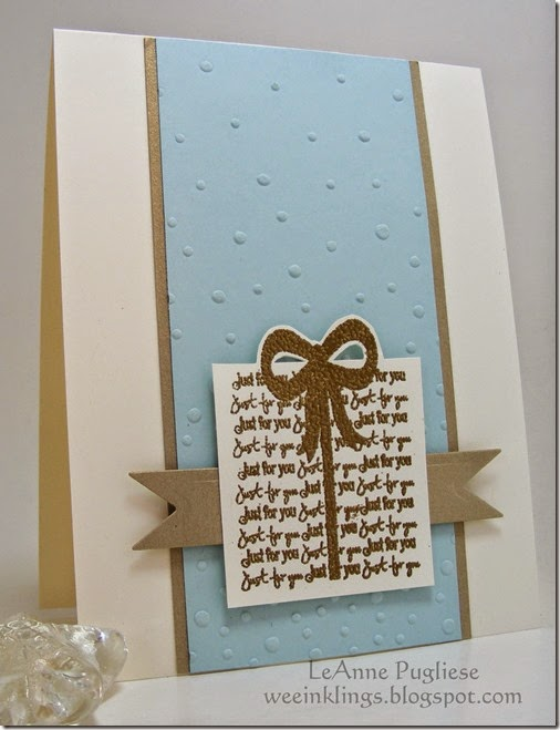 LeAnne Pugliese WeeInklings Merry Monday 150 Christmas Stampin