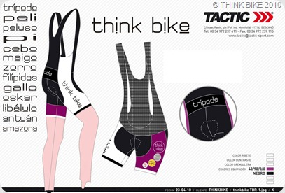 culote THINK BIKE 2010 TACTIC