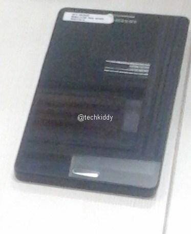 Galaxy Note 3 close up