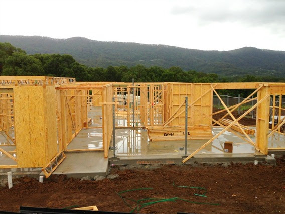 Building a House {2nd Month}