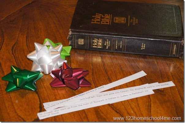 The Christmas Story Scavenger Hunt
