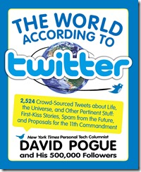 The World According to Twitter by David Pogue Book Cover