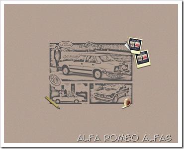 ALFA ROMEO ALFA6 WALLPAPER