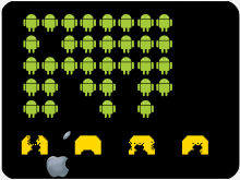 Apple-Android-Invaders