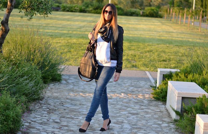 Fruit of the Loom, Givenchy, Zara, Dior, Skull Bracelet, Fashion Blogger, Italian Fashion Blogger