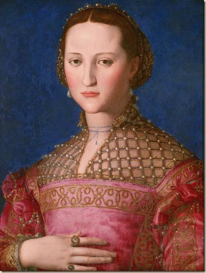 Bronzino, Portrait d'Eleonora de Tolède