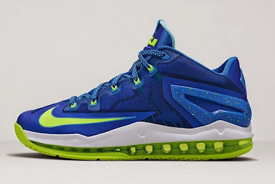 nike lebron 11 low gr sprite hyper cobalt 1 05 Release Reminder: Nike Max LeBron XI Low Sprite