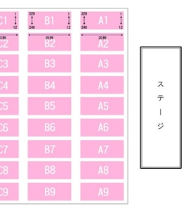 さいたまスーパーアリーナ アリーナ 座席表