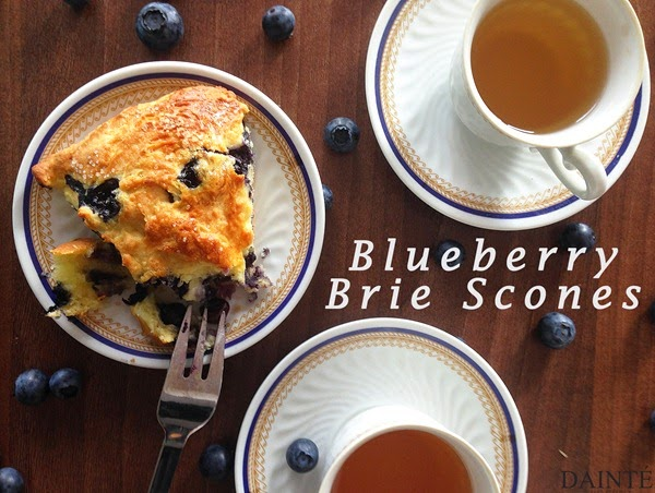 Blueberry Brie Scones Food Recipe Dainte Blog English Tea
