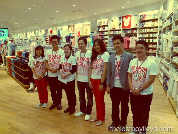 uniqlo staff