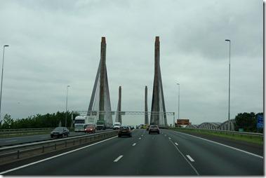 Martinus Nijhoffbrug, Zaltbommel,rivier de Waal