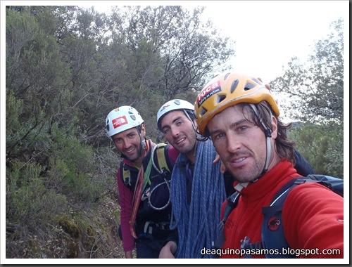 Via Gali-Molero 500m 6b  Ae (V  A1 Oblig) (Roca Regina, Terradets) (Victor) 0112