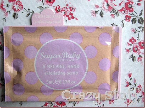 sugar baby exfoliant