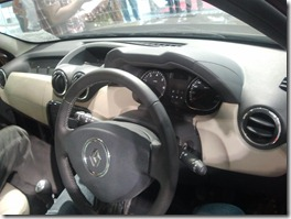 Renault Duster interior 1